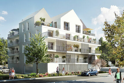 perspective programme immobilier neuf saint nazaire 44 achat neuf groupe gambetta