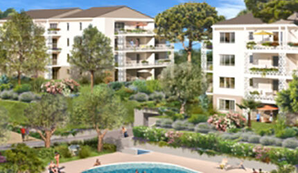 travaux debut blue park programme immobilier neuf antibes