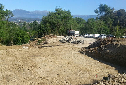 travaux programme immobillier neuf cagnes mer 06